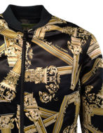 Picture of Versace Jeans Gold Columns Bomber