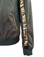 Picture of Versace Green Logo Tape Bomber