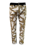 Picture of Versace Gold Column Skinny Jean