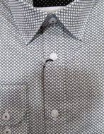 Picture of Brooksfield Weave Print Shirt
