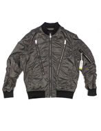 Picture of Diesel Bomber Zip Silver Jacket