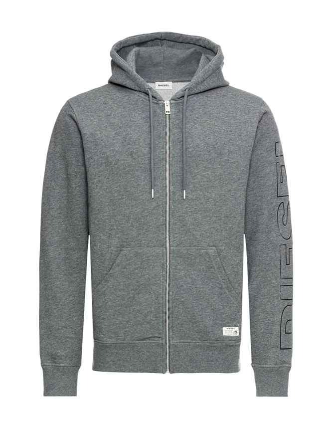 Picture of Diesel Hood Zip Sweat Lounge Jacket