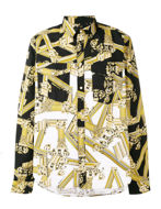 Picture of Versace Jeans Multi Gold Columns Shirt