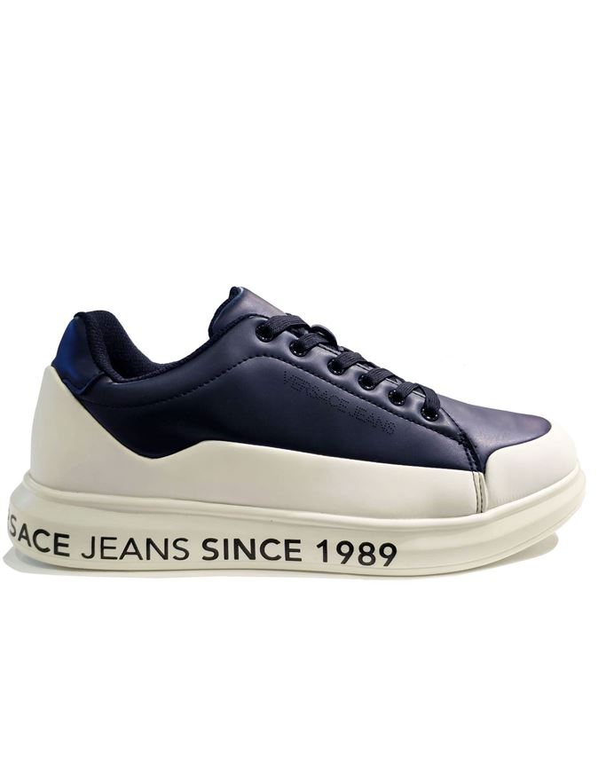 Picture of Versace Jeans Light Comfort Navy Sneaker
