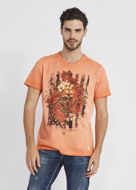 Picture of Gaudi Floral Skull S/S Tee