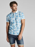 Picture of No Excess Floral Print Polo