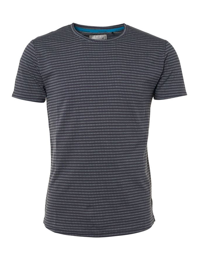 Picture of No Excess Geo Jacquard Tee