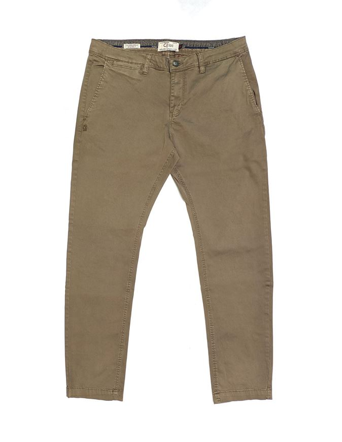Picture of Gaudi Olive Skinny Stretch Chinos