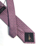 Picture of Ted Baker Motif Jacquard Silk Tie