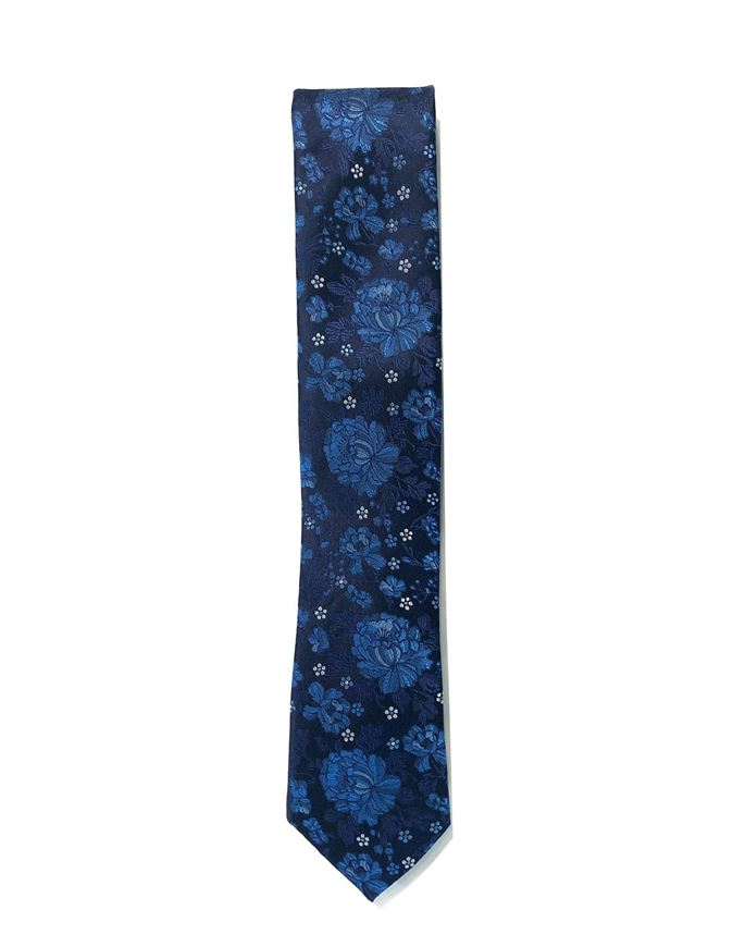 Picture of Ted Baker Floral Jacquard Silk Tie