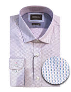 Picture of Brooksfield Pink Square Geo Luxe Shirt