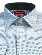 Picture of Brooksfield Dots Dobby Luxe Shirt