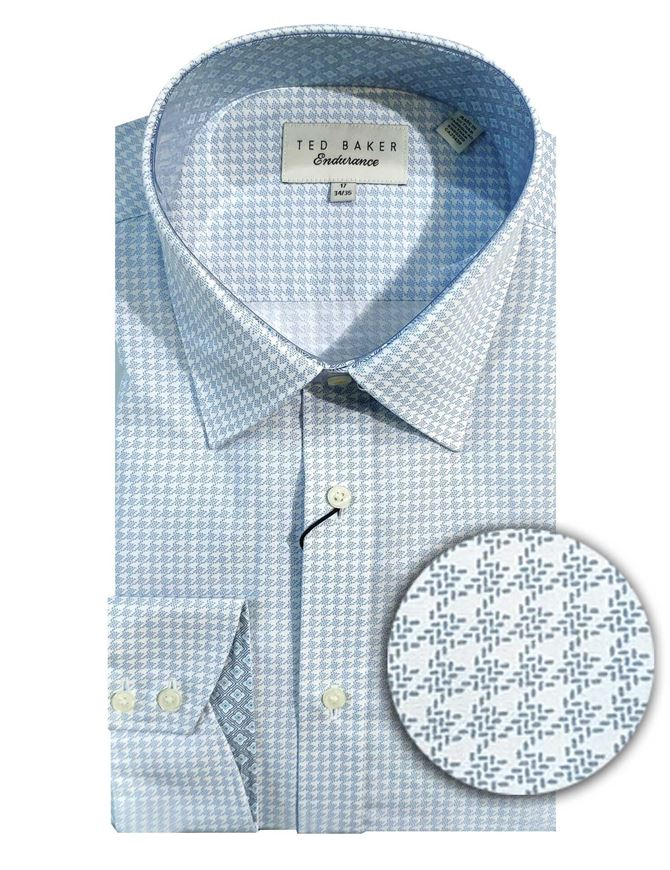 Picture of Ted Baker Hounds-tooth Print Shirt