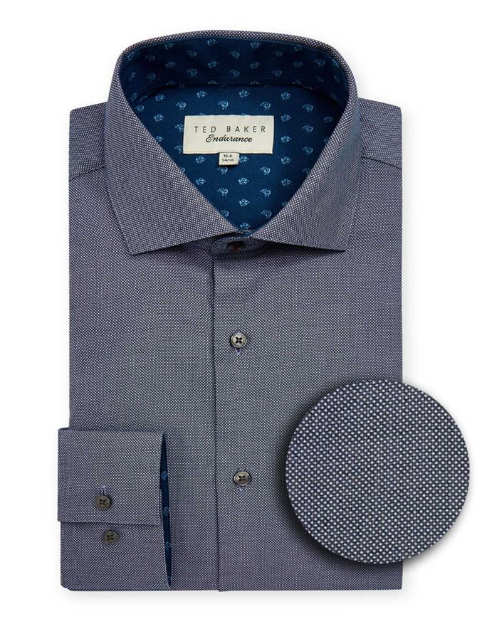 Picture of Ted Baker Spot Dots Print Shirt