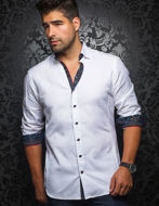 Picture of Au Noir Tomassi White Shirt