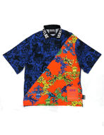 Picture of Versace Jeans Couture Baroque Loose Fit Polo