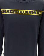 Picture of Versace Logo Stud Sleeves Sweatshirt