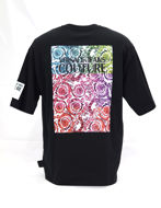 Picture of Versace Jeans Couture Wild Baroque Loose T-Shirt