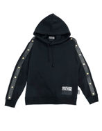 Picture of Versace Jeans Couture Stud Hood Sweat Shirt