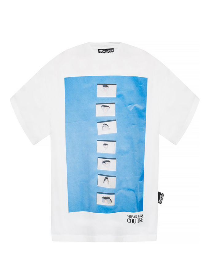 Picture of Versace Jeans Couture Stones Loose T-Shirt