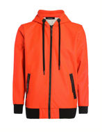 Picture of Diesel Orange Film Hood Sweat Jacket