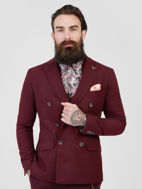 Picture of Pearly King  Moleskin Double Breasted Jacket