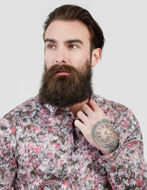 Picture of Pearly King Obscure Print Shirt