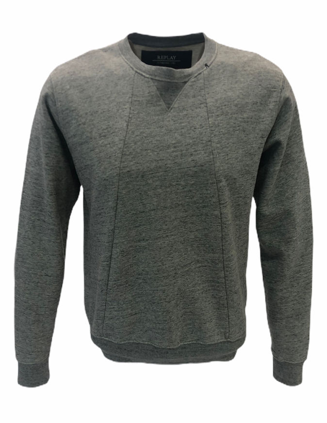 Picture of Replay Cotton Fleece Sweatshirt