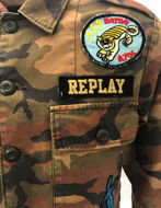 Picture of Replay Camo Military Shirt Jacket