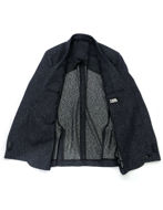 Picture of Karl Lagerfeld Navy Salt & Pepper Blazer