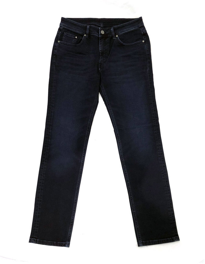 Picture of Karl Lagerfeld Washed Denim Stretch Navy Jean