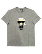 Picture of Karl Lagerfeld Ikonic Grey Tee