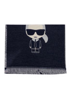 Picture of Karl Lagerfeld Ikonic Wool Scarf