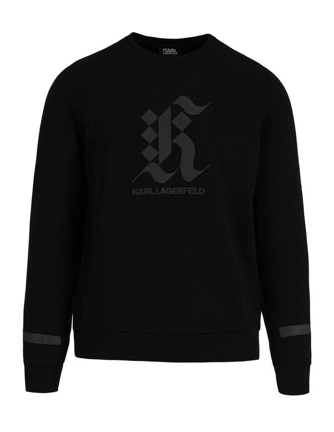 Picture of Karl Lagerfeld Reflective Logo Sweatshirt