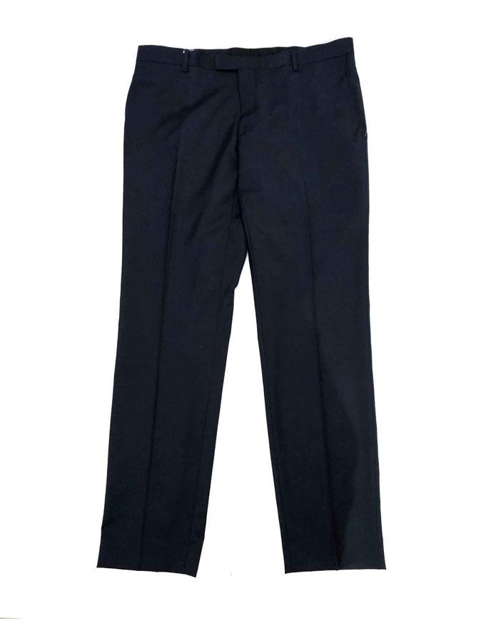 Picture of Joe Black Pure Wool Navy Trouser