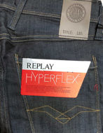 Picture of Replay Hyperflex Navy Denim Stretch Jean