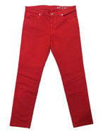 Picture of Versace Collection Red Relaxed Stretch Jean