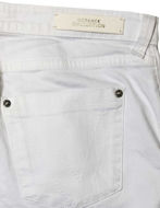Picture of Versace Collection White Relaxed Stretch Jean