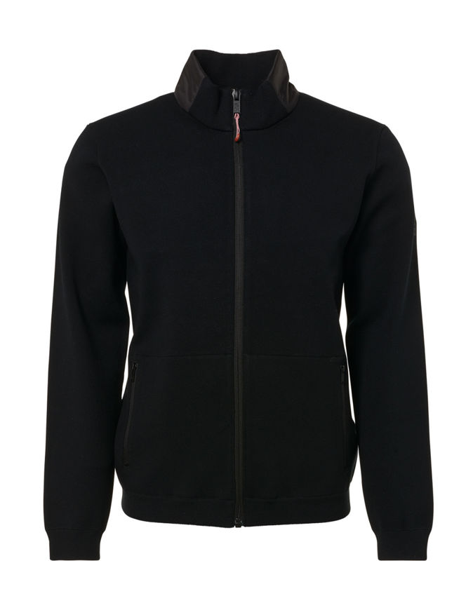 Picture of No Excess Zip Knitted Sweat Jacket