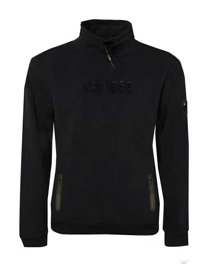 Picture of No Excess Embossed Black Sweatshirt