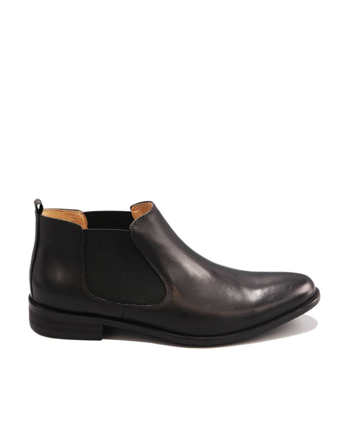 Picture of Cutler Black  Chelsea Dress Boot