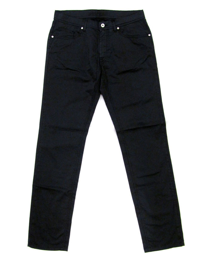 Picture of Lagerfeld Cotton Trousers in Navy - Peter Dine