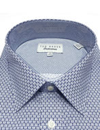 Picture of Ted Baker Endurance Geo Timeless Blue Shirt