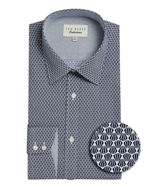 Picture of Ted Baker Endurance Geo Timeless Navy Shirt