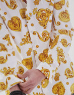 Picture of Versace Jewel Baroque White Shirt