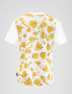 Picture of Versace Jewel Baroque Contrast Tee