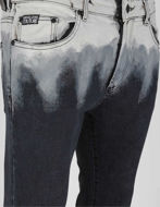Picture of Versace Ombre Overdyed Black Denims