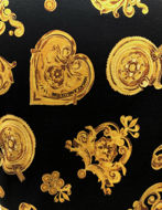 Picture of Versace Jewel Baroque Black Polo