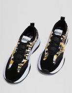 Picture of Versace Xtreme White & Gold Barocco Sneakers