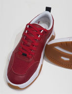 Picture of Versace Jeans Couture Red Leather Sneakers